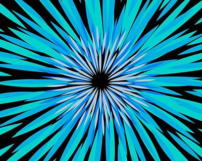 Digital Art - Fireworks No. 1 by Sandy Taylor