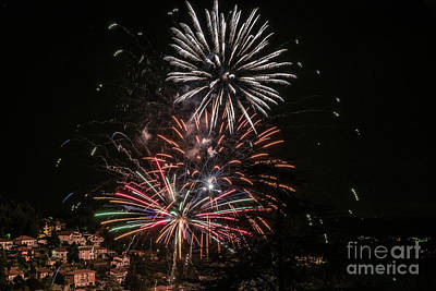 Photograph - Fireworks Over Italy by Alissa Beth Photography