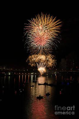 Photograph - Fireworks by Quinn Sedam