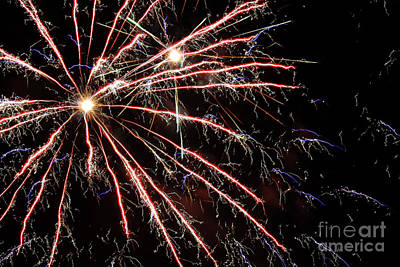 Fireworks Spectacular Art Print by Terry Weaver