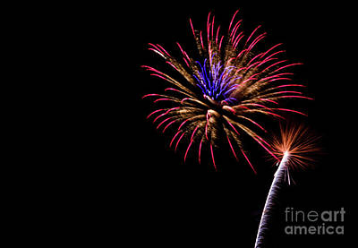 Photograph - Fireworks by Suzanne Luft