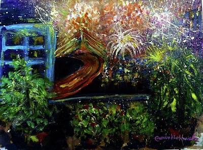Painting - Fireworks by Wanvisa Klawklean