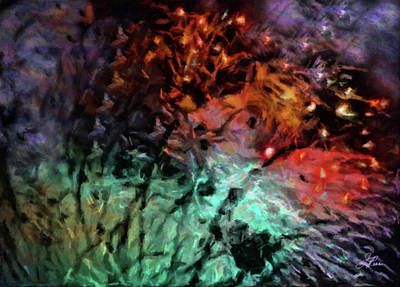 Painting - Fireworks15 by Joan Reese