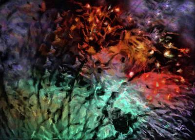 Digital Art - Fireworks15 by Joan Reese