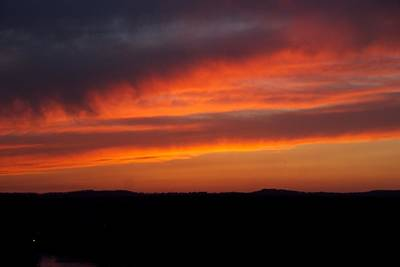Photograph - Firey Skies by Toni Berry