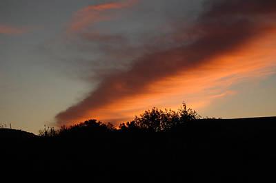 Photograph - Firey Sky by Barbara J Blaisdell