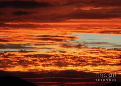 Photograph - Firey Sunset by Sabrina L Ryan