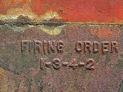 Photograph - Firing Order by David King