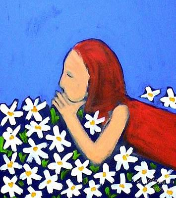 Painting - Field Of Flowers by Winsome Gunning