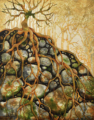 Painting - Firmly Rooted by Brenda Jiral