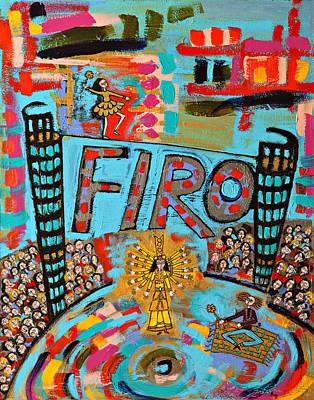Firo The Dancer Art Print by Maggis Art