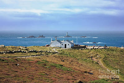 First And Last View Land's End Cornwall Print by Terri Waters