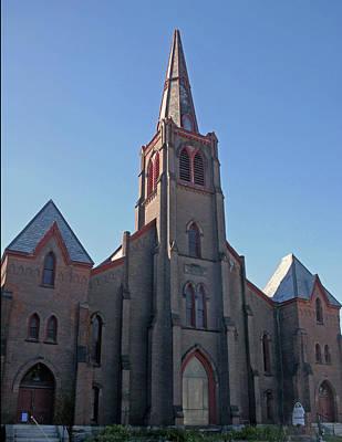 Photograph - First Baptist Church by Gerald Mitchell