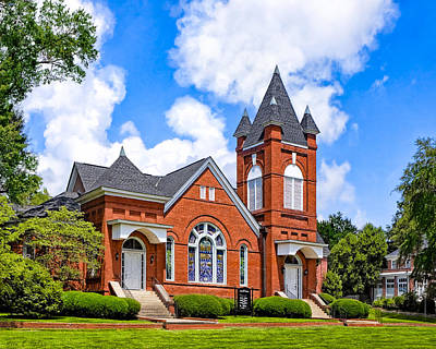 Photograph - First Baptist Church - Montezuma Georgia by Mark Tisdale