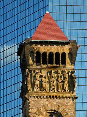First Baptist Church Of Boston Art Print