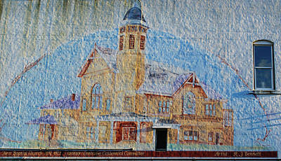 Photograph - First Baptist Church by Tikvah's Hope