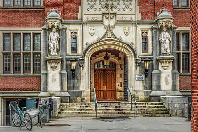 Photograph - First Campus Center Princeton University by Susan Candelario