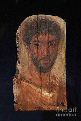 Photograph - Second Century A.d. Egyptian Coffin Portrait by Kevin McCarthy