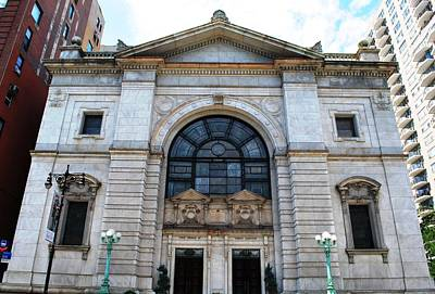 Photograph - First Church Of Christ - Manhattan by Matt Harang