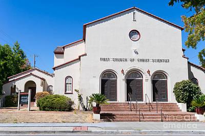 Photograph - First Church Of Christ Scientist Petaluma California Usa Dsc3797 by Wingsdomain Art and Photography