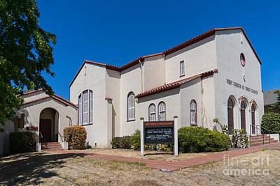 First Church Of Christ Scientist Petaluma California Usa Dsc3815 Art Print by Wingsdomain Art and Photography