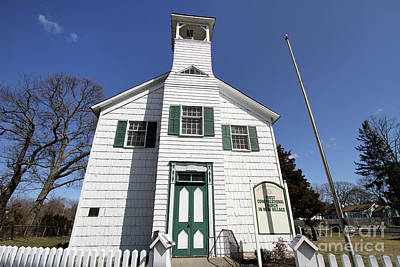 Photograph - First Congragational Church In New Village by Steven Spak