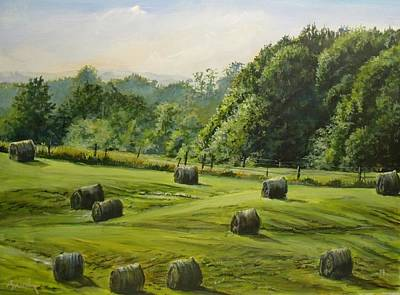 Painting - First Cut by William Brody