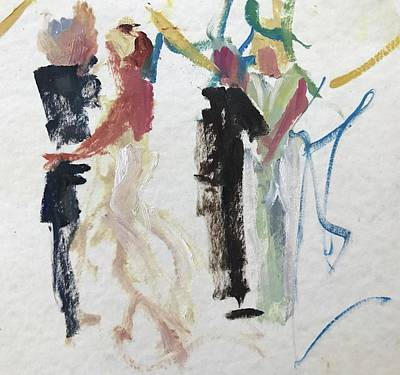 Painting - First Dance by Carol Berning