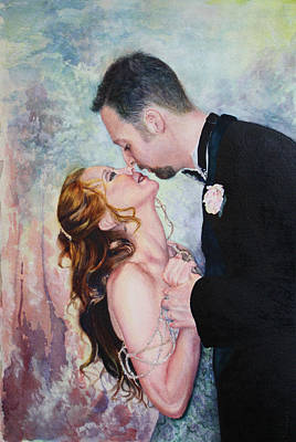 First Dance Art Print