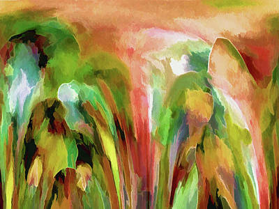 Digital Art - First Day In The Garden by Lynda Lehmann