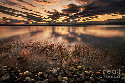 Photograph - First Day Of Autumn Over Bellingham by Paul Conrad