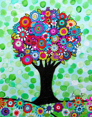First Day Of Spring Art Print by Pristine Cartera Turkus