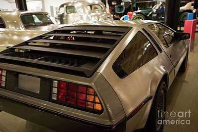 Photograph - First Delorean Produced by David Bearden