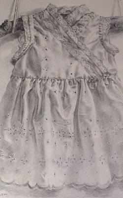 Drawing - First Dress by Jackie Hoats Shields