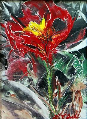 First Encaustic Art Print by Lynda McDonald