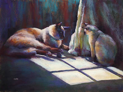 Painting - First Encounter by Karen Margulis