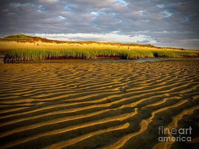 Banks Photograph - First Encounter Beach, Cape Cod, Shore Line by Debra Banks