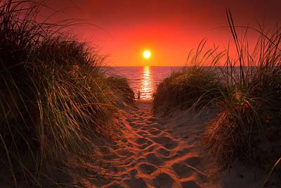 Photograph - First Encouter Beach Sunset September 2017 by Dapixara Art