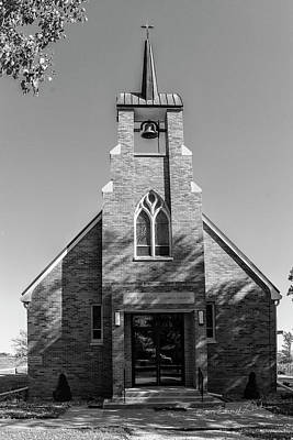 Photograph - First Evangelical Lutheran Church Missouri Synod by Edward Peterson
