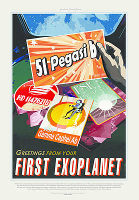 First Exoplanet Art Print