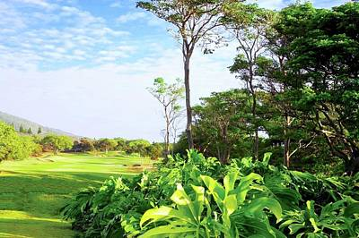 Photograph - First Fairway At Kahili Golf Course by Kirsten Giving