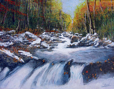 First Fall Art Print by Bill Brown