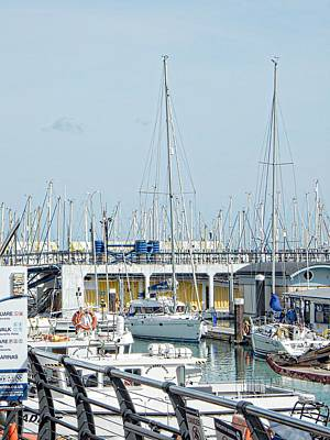 Photograph - First Find Your Boat Brighton Marina by Dorothy Berry-Lound