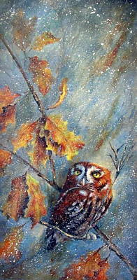 Painting - First Flurries by Mary McCullah