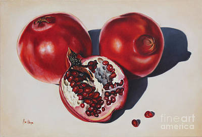 Painting - First Fruits I by Ilse Kleyn
