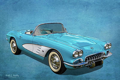 Photograph - First Gen Corvette by Keith Hawley