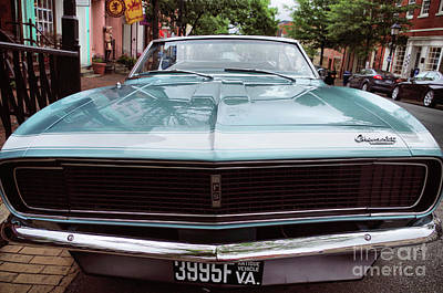 Photograph - First Generaiton Camero 1967 by John S