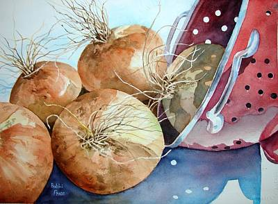 First Harvest Art Print by Bobbi Price