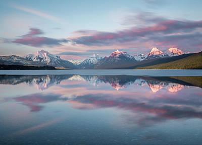 Photograph - First Ice Off // Lake Mcdonald, Glacier National Park  by Nicholas Parker
