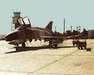 First Jet Art Print by Walter Chamberlain